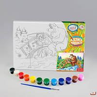 Набор для творчества dankotoys px-01-06 Раскраска на холсте
