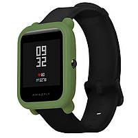 Amazfit Bip Защитный силиконовый чехол для смарт часов, Green, фото 3