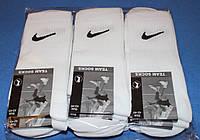 Носки мужские в стиле Nike 42-45 размер,белый. 12 пар.