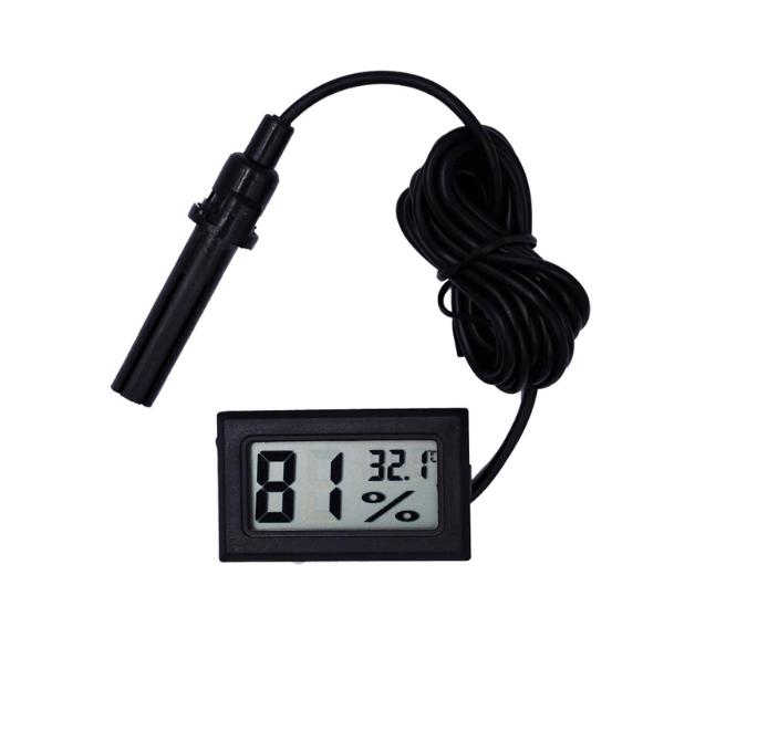 Цифровий термометр і гігрометр