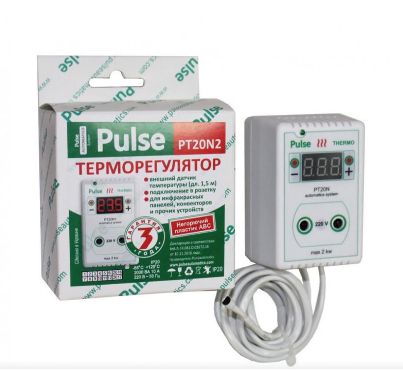 Терморегулятор для инкубатора. Терморегулятор для брудера RT20-N2 Puls (в розетку)