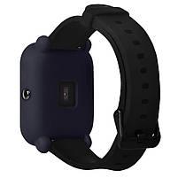 Amazfit Bip Защитный силиконовый чехол для смарт часов, Navy blue, фото 4