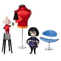 Эксклюзивный набор игрушек Суперсемейка 2 Джек-Джек и Эдна Моди Disney