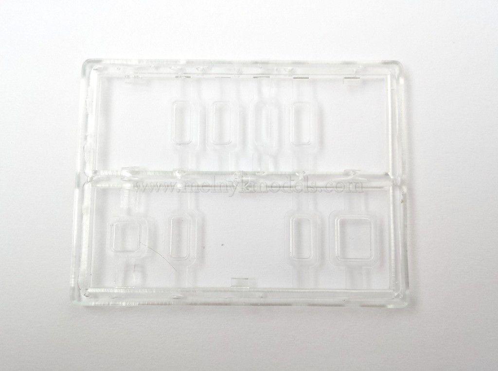 Запасные части для модей, Комплект стекол для тепловоза ТЭ3, масштаба 1:87,H0