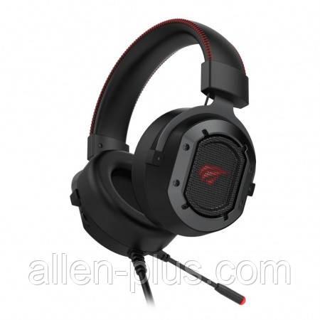 Навушники професійні ігрові з мікрофоном та підсвіткою HAVIT HV-H2006U, 7.1 USB, black