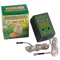 "Терморегулятор. Терморегулятор для инкубатора цифровой с гигрометром ""Цып-Цып"", фото 1"