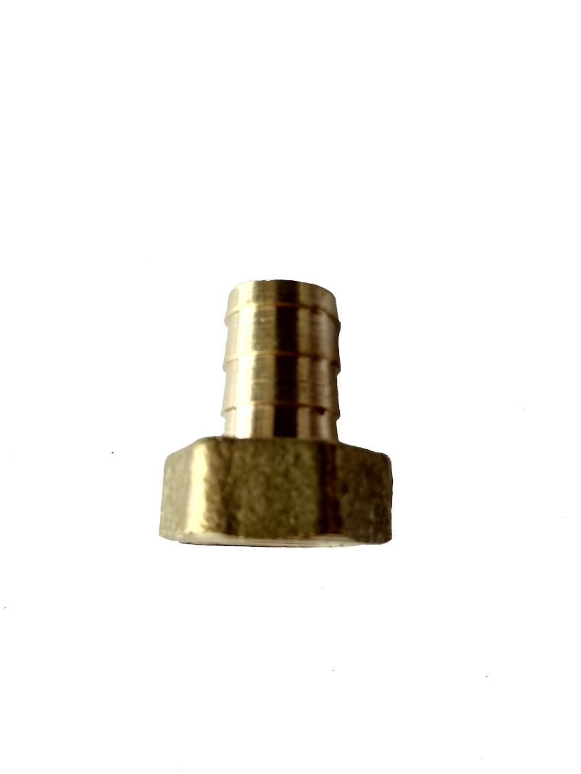 """Штуцер 1/2"""" с внутренней резьбой под шланг 10 мм"""