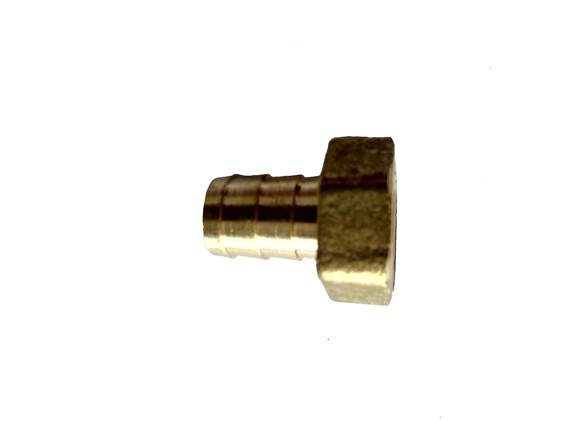 """Штуцер 1,2"""" с внутренней резьбой под шланг 8 мм"""
