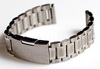 Браслет для часов ELITE из нержавеющей стали, 18 мм. Серебро , фото 1