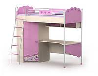 Кровать+стол Pn-16-2 (матрас 90*200 см. ) мебель детская.