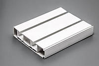Карниз потолочный двойной СМ2 - 300 см фурнитура в подарок