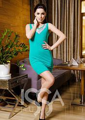 Платья ISSA PLUS 1628  L/XL мятный