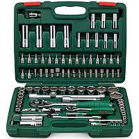 "Набор торц. головок 1/4""DR4-14мм и 1/2""DR10-32 мм,94 предм. (TK-94 HANS tools)"