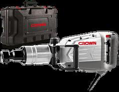 Электроотбойный молоток Crown CT18095 BMC (Бетонолом) (1.5 кВт, 50 Дж)