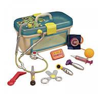 Игровой набор - Добрый доктор i-болит 12 аксессуаров, свет, звук. Battat
