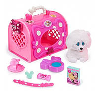 Игровой набор Minnie Happy Helpers Pet Carrier, Pink White