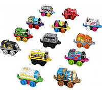 Мини паровозики томас Fisher-Price 13 шт Thomas Friends MINIS Surprise Cargo Pack