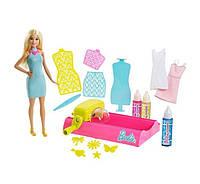 Игровой набор с куклой Барби Фабрика красок Barbie Crayola Color Magic Station Blonde