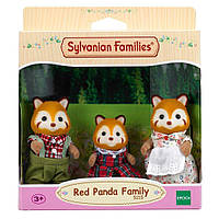 Семья Красные панды Calico Critters Sylvanian Families Red Panda Family