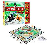 Настольная игра Hasbro Моя первая Монополия A6984 Monopoly Junior Board Game