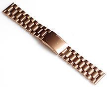 Браслет для годинника ELITE з нержавіючої сталі, 22 мм. Золотистий