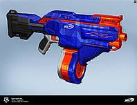Бластер Hasbro Nerf Инфинус Элит Infinus N-Strike Elite моторизированный