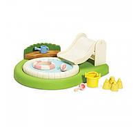 Бассейн и песочница для малышей Calico Critters Baby Pool and Sandbox