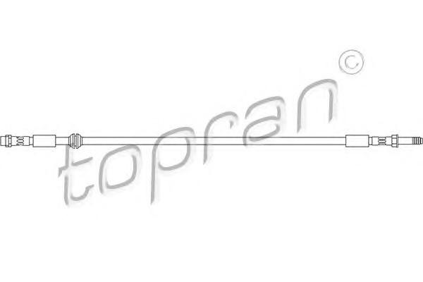 Тормоз.шланг пер. VW T-5 L=550mm