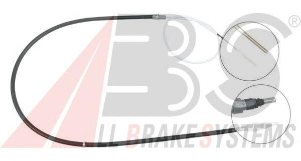 Трос ручника VW B-4 L=1470mm диски