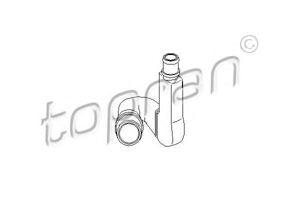 Трубка отвода кар.газов Audi A4/A6 1.8E/T (>01) VW B-5 1.8E/T (>01) пластик 112 280