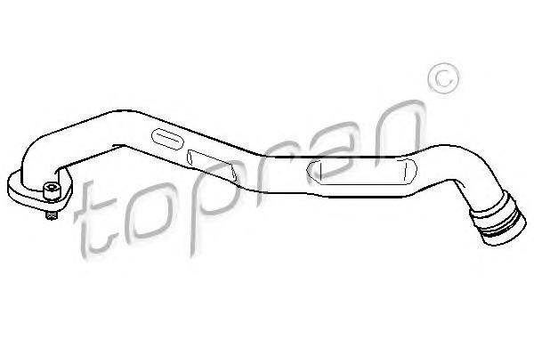 Трубка отвода кар.газов VW Caddy 2/Golf 3/B-5 1.9D/TDi/SDi