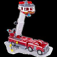 Щенячий патруль Большая пожарная станция с Маршалом NEW PAW PATROL Ultimate Rescue Fire Truck