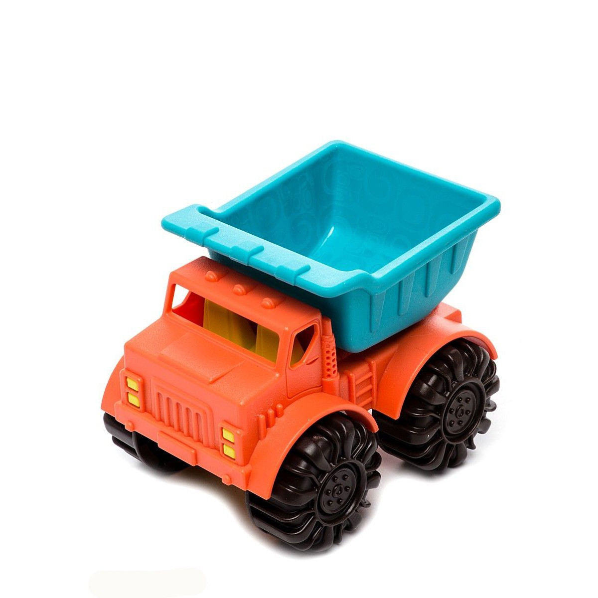Игрушка для игры с песком - МИНИ-САМОСВАЛ (цвет папайя-морской)
