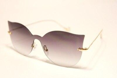 Солнцезащитные очки Miu Miu бабочка серые