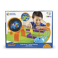 Игровой STEM-набор LEARNING RESOURCES – МЫШКА В ЛАБИРИНТЕ (программируемая игрушка), фото 1