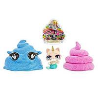 Чудо-сюрприз слайм с фигуркой 555797 Poopsie Cutie Tooties Surprise Collectible Slime