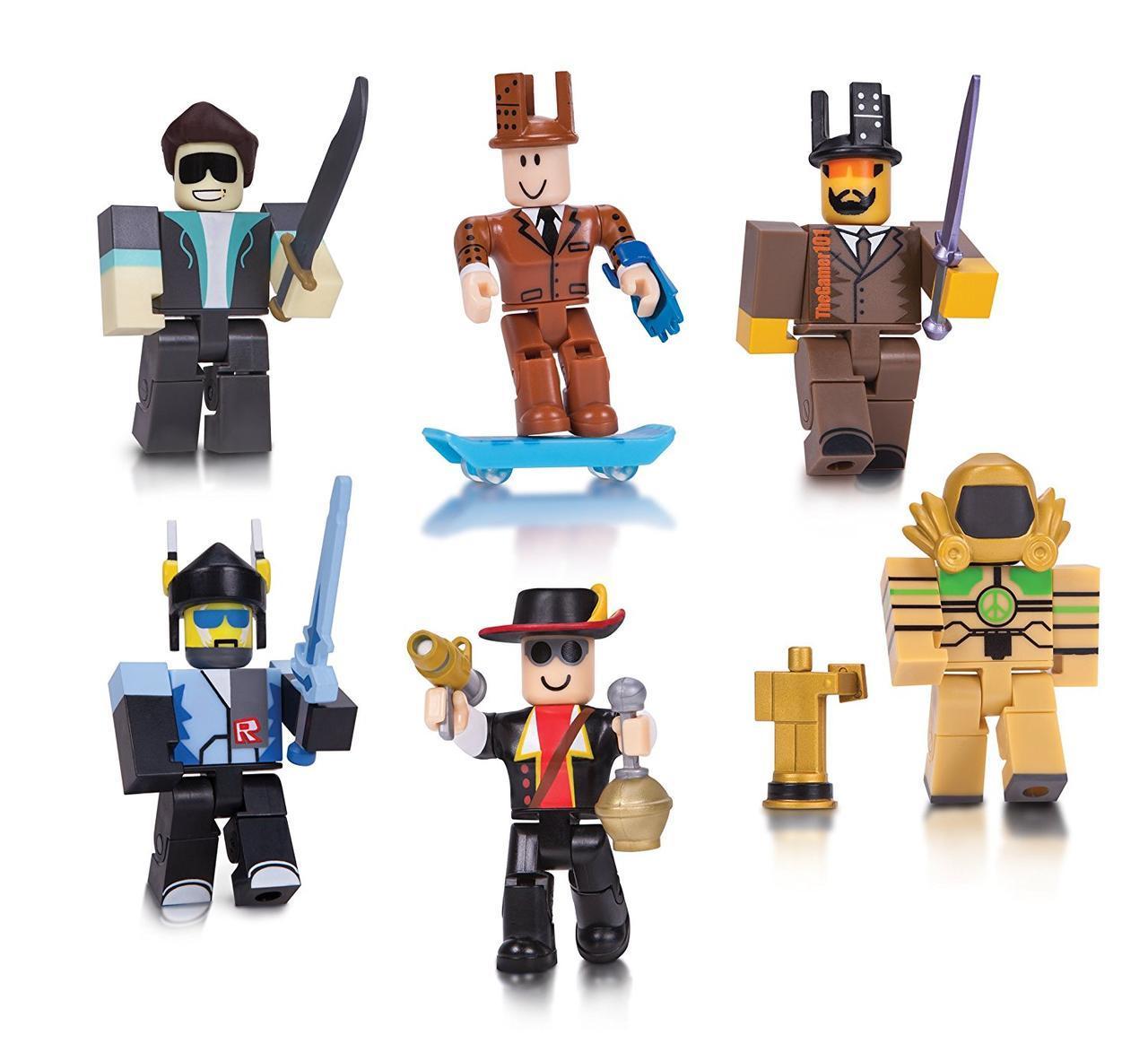Фигурки роблокс Roblox Legends of Roblox Six Figure Pack