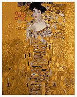 Картина раскраска по номерам на холсте 40*50см Babylon G321/VP308 Золотая Адель