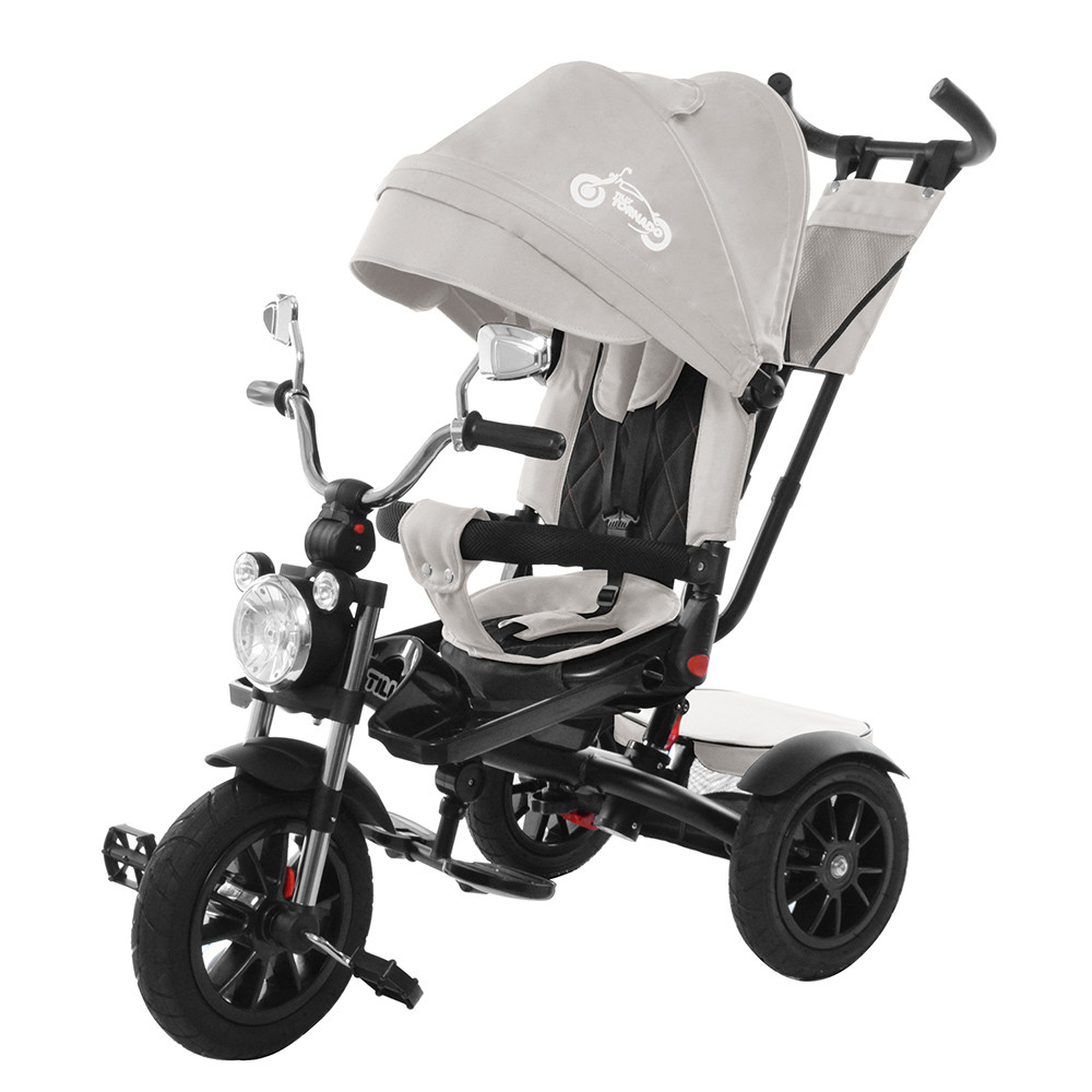 Велосипед трехколесный TILLY TORNADO T-383 Серый Гарантия качества
