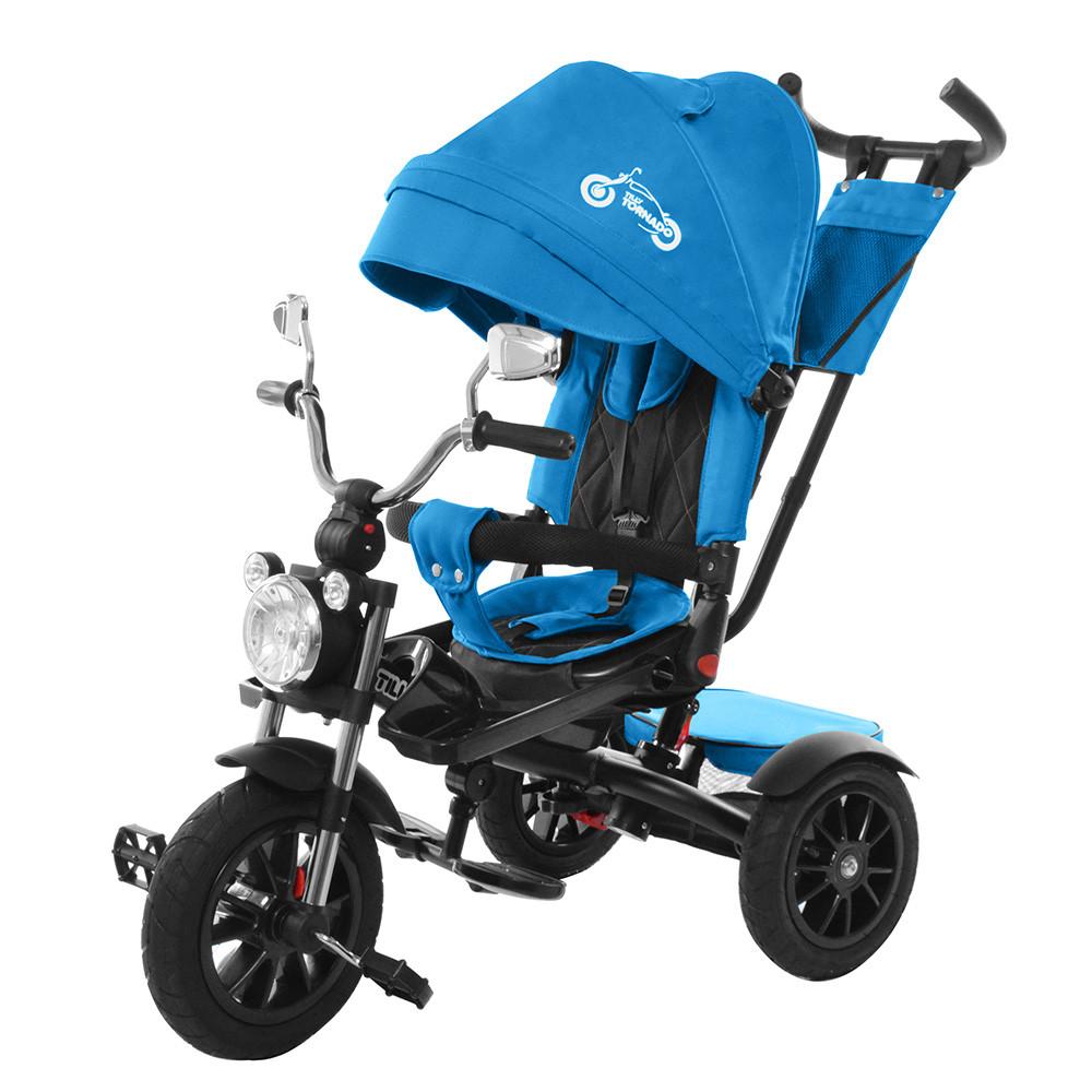 Велосипед трехколесный TILLY TORNADO T-383 Синий Гарантия качества