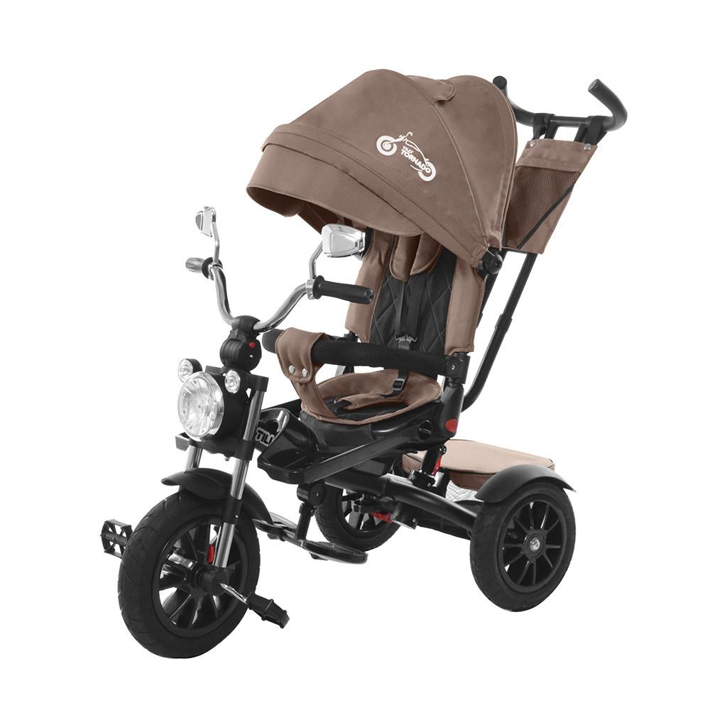 Велосипед трехколесный TILLY TORNADO T-383 Коричневый Гарантия качества