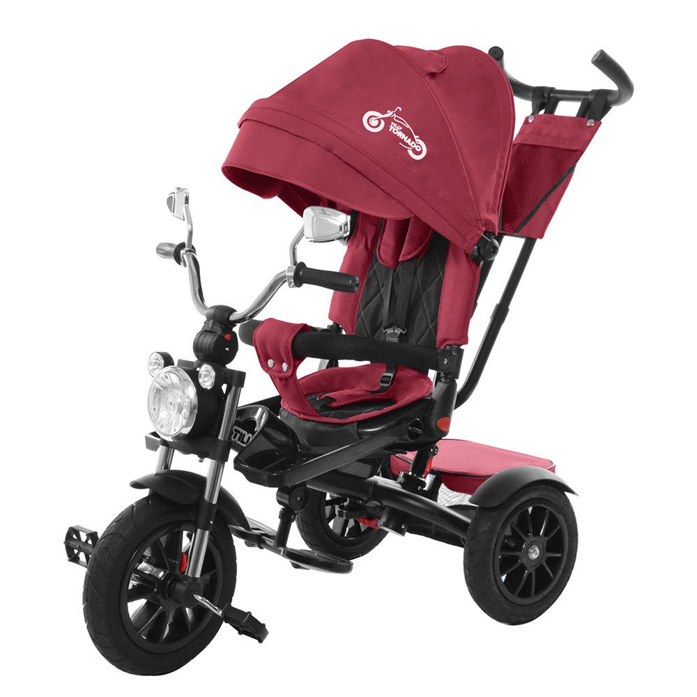 Велосипед трехколесный TILLY TORNADO T-383 Красный Гарантия качества