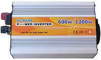 Инвертор NV-M 600/1200Вт 12В-220В