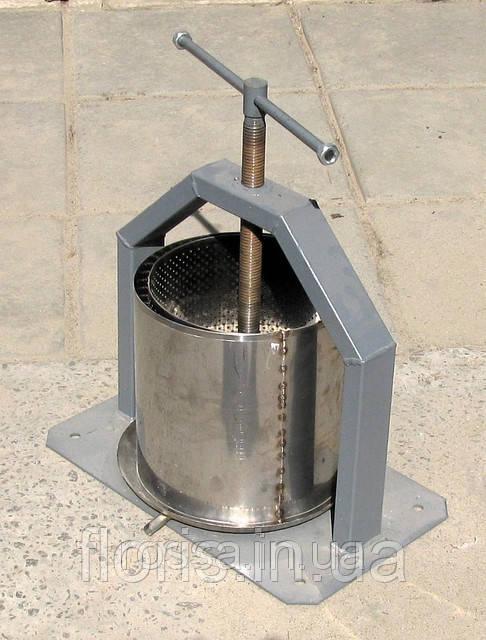 Механический пресс ручной ( 15 литров) нержавейка