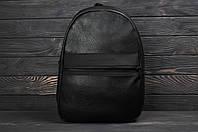 Кожаный мужской спортивный рюкзак, портфель, сумка, шкіряний рюкзак Tommy Hilfiger ТОП-реплика