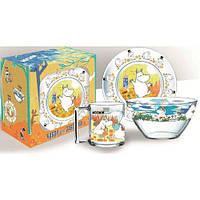 Набор детской посуды 3пр. DISNEY Муми-тролли Н.1914;0193;1542ДЗ Муми-т*
