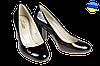 Женские туфли на каблуке kolari  7019 черные   весенние