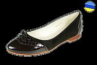 Женские кожаные туфли kolari 1483 коричневые   весенние