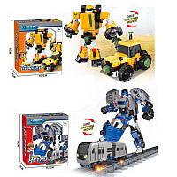 Детская игрушка Трансформер Тобот Трактор Метро