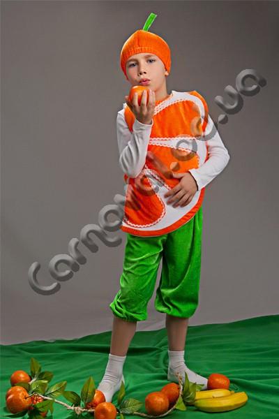 Карнавальный костюм Апельсин- Мандарин